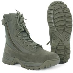 Foliage Tactical Army Boots - 2 Zips Thumbnail