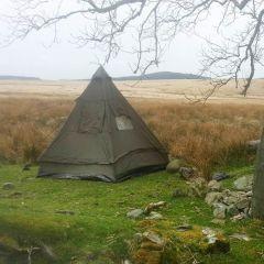 Four Man Tipi Pyramid Tent