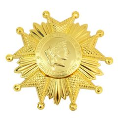 French Legion of Honor Breast Star - Gold - Thumbnail