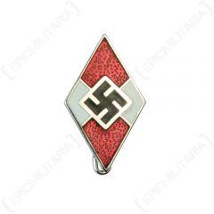 Hitler Youth Diamond Pin Back