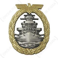 WW2 German Kriegsmarine High Seas Fleet Badge