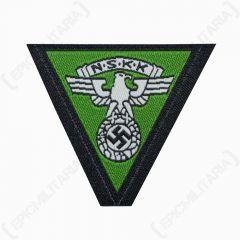 WW2 German NSKK BEVO Cap Eagle - Green