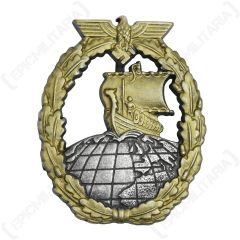 WW2 German Kriegsmarine Auxiliary Cruiser Badge