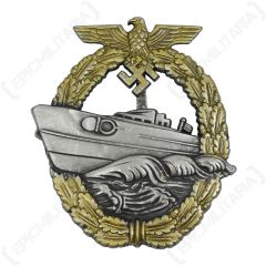 WW2 German Kriegsmarine E-Boat Badge