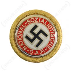 NSDAP Golden Party Badge - Dated