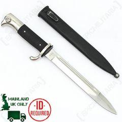 WW2 German Parade Knife - Nickel