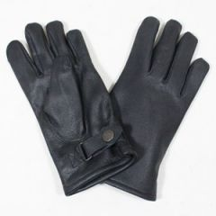 German Army Lined Leather Gloves - Thumbnail