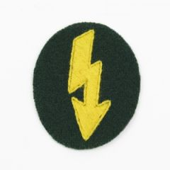 German Army Signals Operator with Cavalry units Trade Badge thumb
