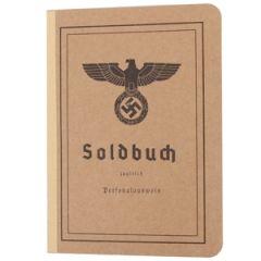 German Army Soldbuch Thumbnail