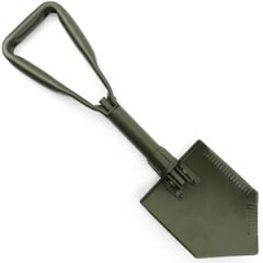 German Army Style Olive Drab Shovel and Cover