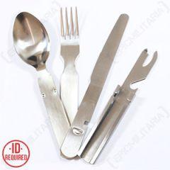 German Army Type Cutlery Set - Thumbnail