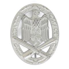 German General Assault Badge Silver
