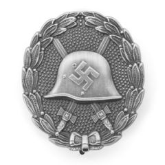 German Legion Condor Wound Badge - Silver Thumbnail