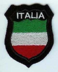 Italy - ITALIA on National shield