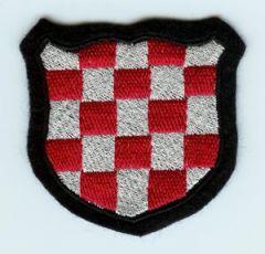 Croatia - Red/white checks