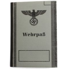 German Wehrpass - Late War Thumbnail
