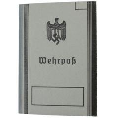 German Wehrpass - Pre-War Thumbnail