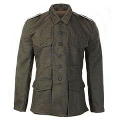 WW2 German Army M42 Wool Field Grey Tunic - Imperfect