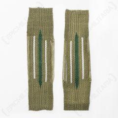 Infantry EM Bevo Litzen Collar Tabs
