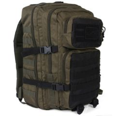 36L Molle Assault Pack Large - Green and Black