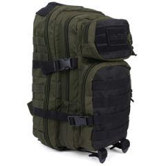 20L Molle Assault Pack Regular - Green and Black