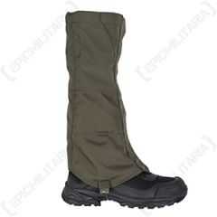 Gaiters with Steel Wire Fixing - Olive Drab