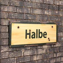 WW2 Halbe Road Sign Thumbnail