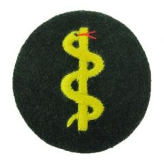 Heer Medical Personnel Trade Patch