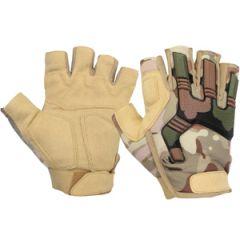 Highlander Raptor Fingerless Gloves - HMTC Camo Thumbnail