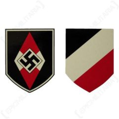 Hitler Youth Helmet Decal