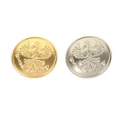 Imperial German Prussian Gefreiter Insignia Buttons Pair - 25mm