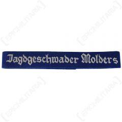 WW2 German Jagdgeschwader Molders Officers Cuff Title