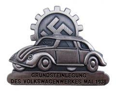 KdF Wagen Commemorative Badge May 1938 SILVER