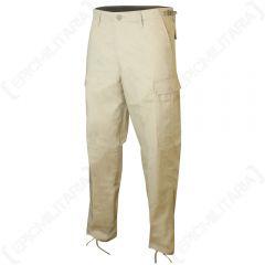 US Ranger BDU Trousers - Khaki