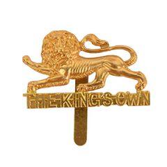 British Kings Own Royal Lancaster Regiment Cap Badge
