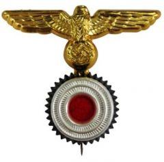 Kriegsmarine Metal Eagle and Cockade Pin