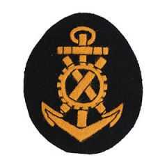 Kriegsmarine Engine NCO Trade Badge - Imperfect