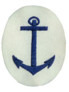 Kriegsmarine Anchor NCO Trade Badge