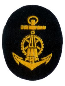 Kriegsmarine Blocking Weapons NCO Trade Badge