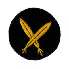 Kriegsmarine Scribe EM Trade Badge