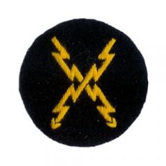 Kriegsmarine Signals EM Trade Badge