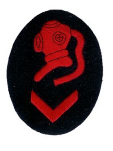 WW2 Kriegsmarine Diver Senior Specialist Trade Badge