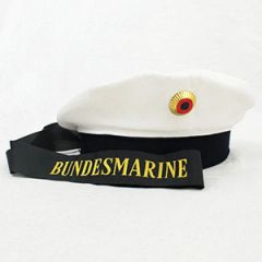 Kriegsmarine EMs White Top Cap Thumbnail