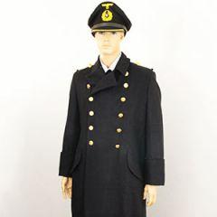 WW2 German Kriegsmarine Officer Wool Overcoat Thumbnail