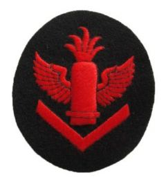 Kriegsmarine Anti-Aircraft Artillery Senior Specialist Trade Badge