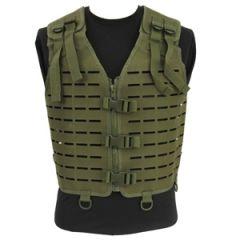 Laser Cut Tactical Vest - Olive - Thumbnail