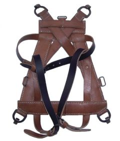 German All Leather A-frame