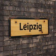 WW2 Leipzig Road Sign Thumbnail