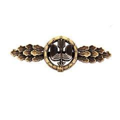 Luftwaffe Long Range Day Fighter Clasp - Bronze Thumbnail