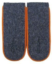 WW2 Luftwaffe Shoulder Boards EM (Orange piped)